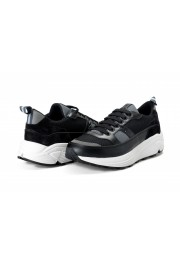 Car Shoe By Prada Men's Black Suede Leather Fashion Sneakers Shoes: Picture 8