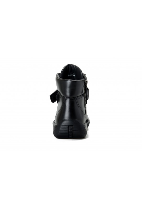 """Prada Men's """"4T2789"""" Black Leather Ankle Boots Shoes: Picture 3"""