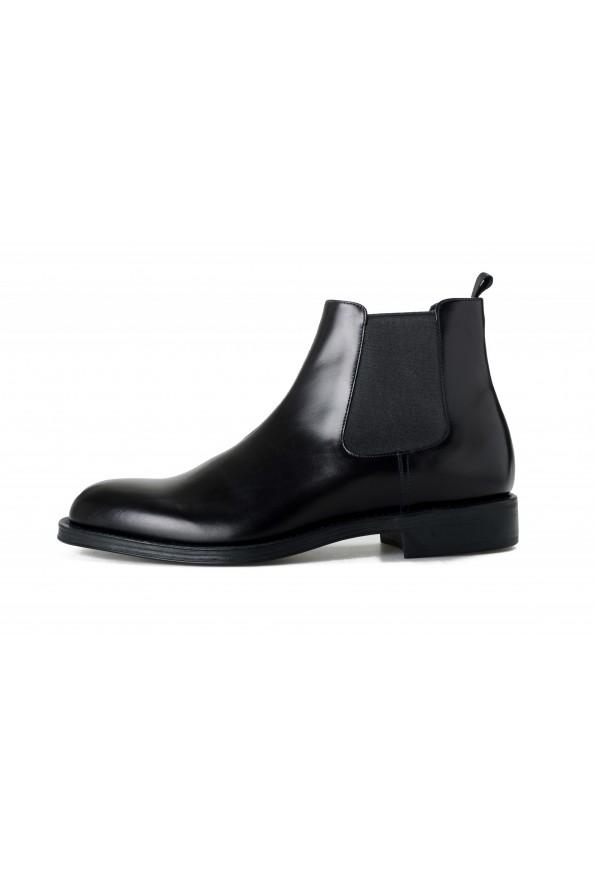 "Prada Men's ""2TC056"" Black Leather Chelsea Ankle Boots Shoes: Picture 2"