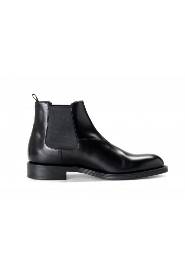 "Prada Men's ""2TC056"" Black Leather Chelsea Ankle Boots Shoes: Picture 4"