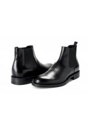 "Prada Men's ""2TC056"" Black Leather Chelsea Ankle Boots Shoes: Picture 8"