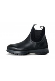 """Prada Men's """"4T3338"""" Black Leather Chelsea Ankle Boots Shoes: Picture 2"""