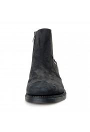 "Salvatore Ferragamo Men's ""Bankley"" Black Nubuck Leather Ankle Boots Shoes: Picture 5"