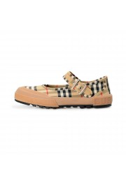 Burberry Women's ELSTEAD Multi-Color Plaid Flat Mary Jane Shoes: Picture 2