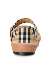 Burberry Women's ELSTEAD Multi-Color Plaid Flat Mary Jane Shoes: Picture 3