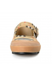 Burberry Women's ELSTEAD Multi-Color Plaid Flat Mary Jane Shoes: Picture 5