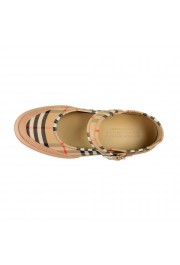 Burberry Women's ELSTEAD Multi-Color Plaid Flat Mary Jane Shoes: Picture 7