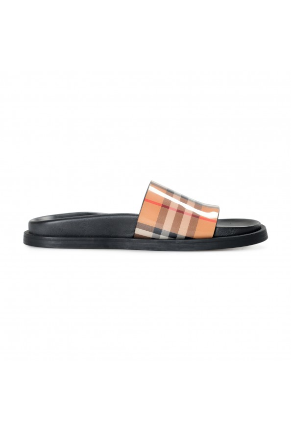 """Burberry Women's """"ASHMORE"""" Checkered Sandals Flip Flops Shoes: Picture 4"""