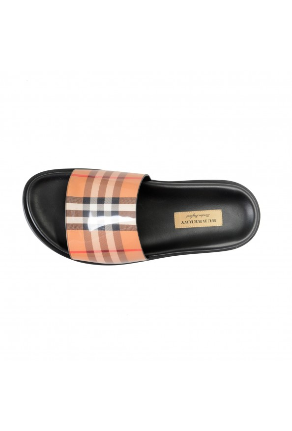"""Burberry Women's """"ASHMORE"""" Checkered Sandals Flip Flops Shoes: Picture 7"""