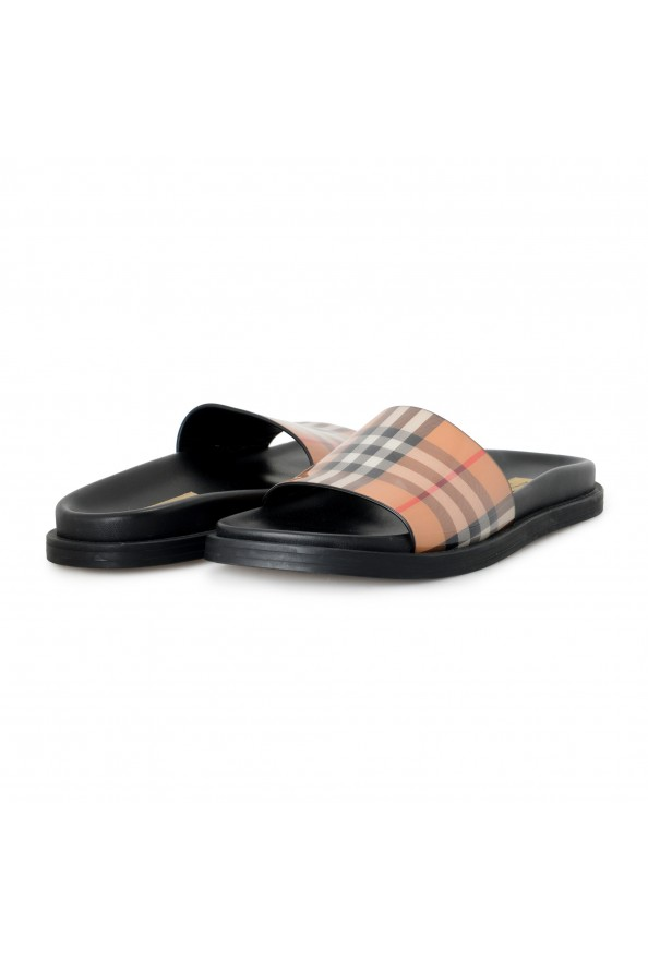 """Burberry Women's """"ASHMORE"""" Checkered Sandals Flip Flops Shoes: Picture 8"""