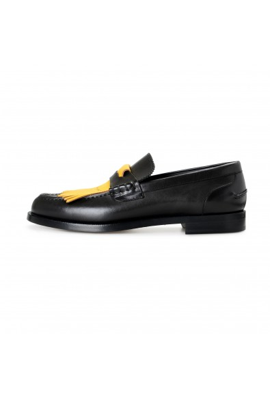 """Burberry Men's """"BEDMOORE"""" Black Leather Loafers Slip On Shoes: Picture 2"""