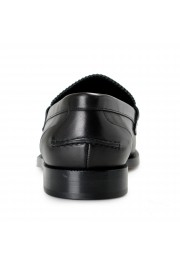 """Burberry Men's """"BEDMOORE"""" Black Leather Loafers Slip On Shoes: Picture 3"""