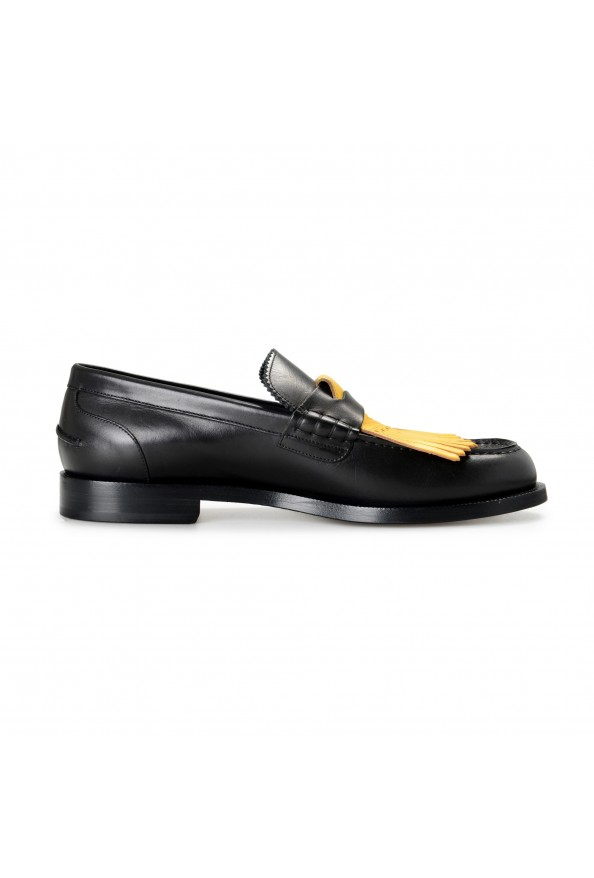 """Burberry Men's """"BEDMOORE"""" Black Leather Loafers Slip On Shoes: Picture 4"""