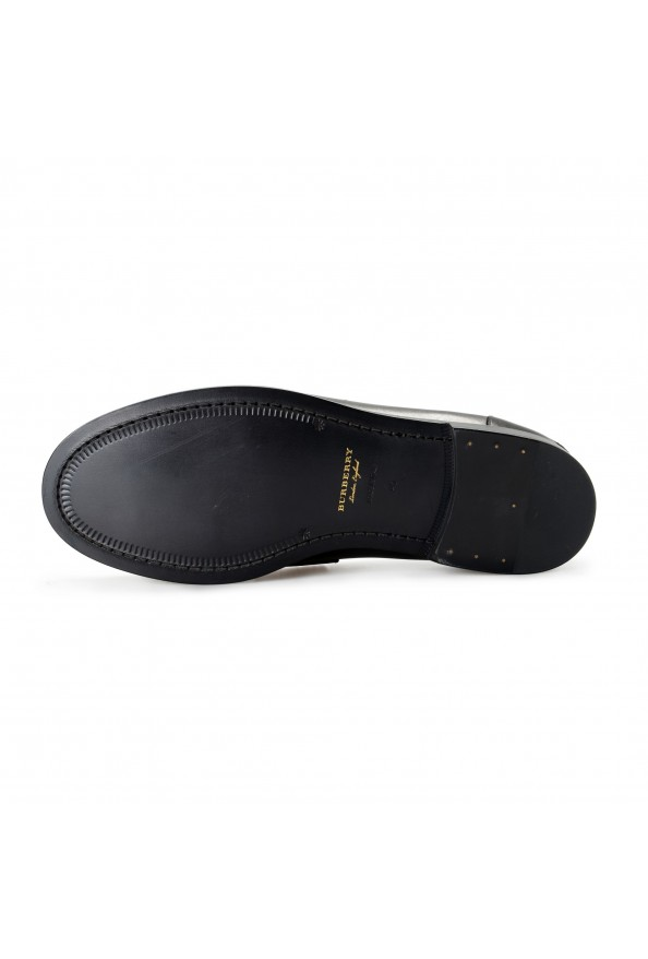 """Burberry Men's """"BEDMOORE"""" Black Leather Loafers Slip On Shoes: Picture 6"""