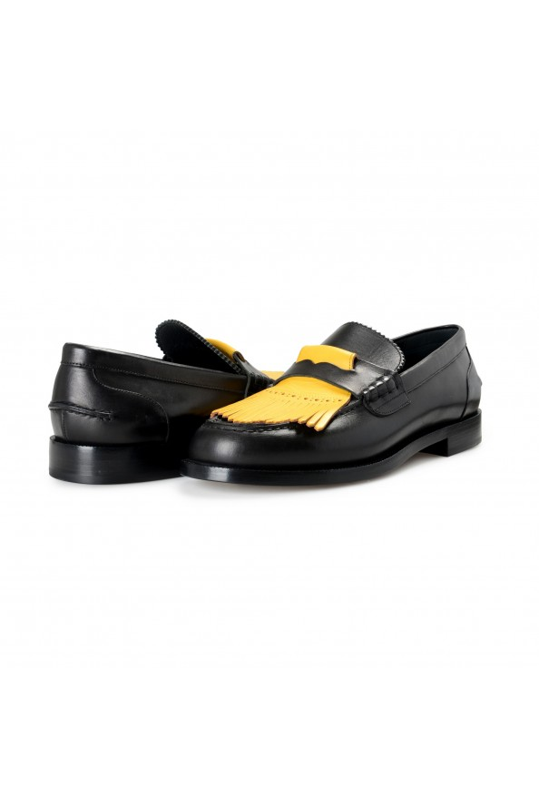 """Burberry Men's """"BEDMOORE"""" Black Leather Loafers Slip On Shoes: Picture 8"""