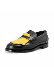 """Burberry Men's """"BEDMOORE"""" Black Leather Loafers Slip On Shoes"""