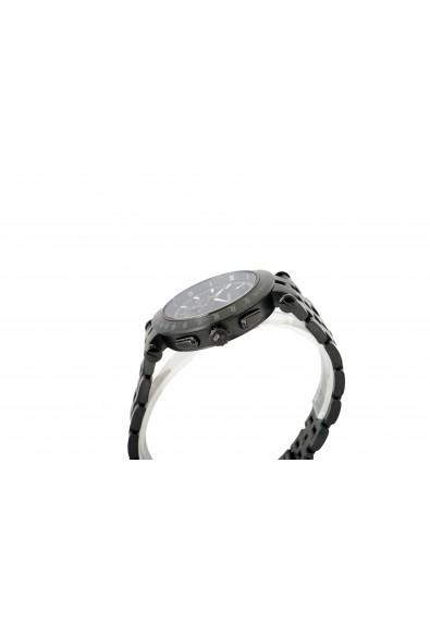 Versace Men's Round Stainless Steel Black Dial Watch: Picture 2