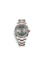 ROLEX 126301 OYSTER PERPETUAL DATEJUST 41 IN OYSTERSTEEL AND EVEROSE GOLD WATCH