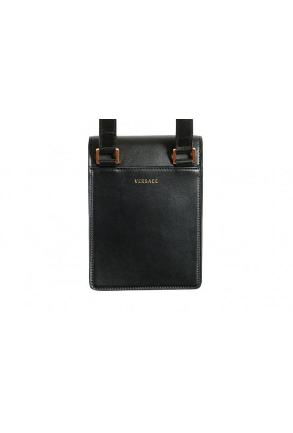 Versace Men's 100% Leather Medusa Stud Mini Shoulder Bag: Picture 3