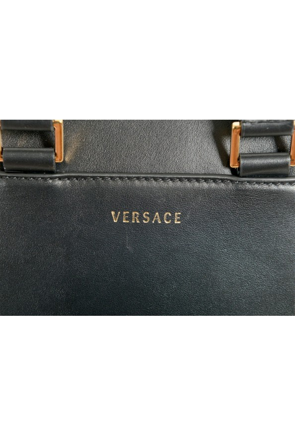 Versace Men's 100% Leather Medusa Stud Mini Shoulder Bag: Picture 4