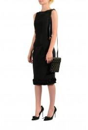 Versace Men's 100% Leather Medusa Stud Mini Shoulder Bag: Picture 7