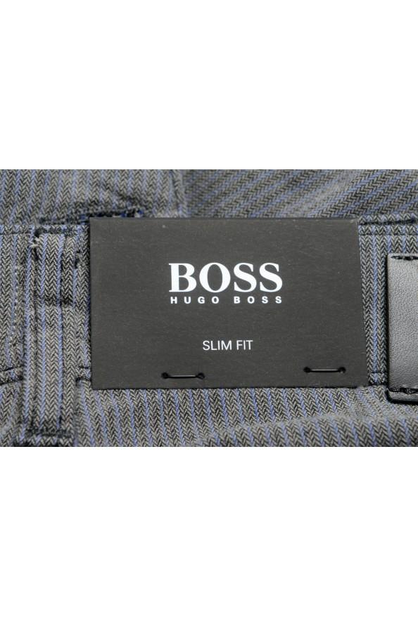 """Hugo Boss Men's """"Delaware3-1-20"""" Slim Fit Straight Leg Jeans: Picture 5"""