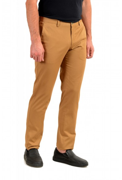 """Hugo Boss Men's """"Stanino17-W"""" Brown Flat Front Casual Pants : Picture 2"""