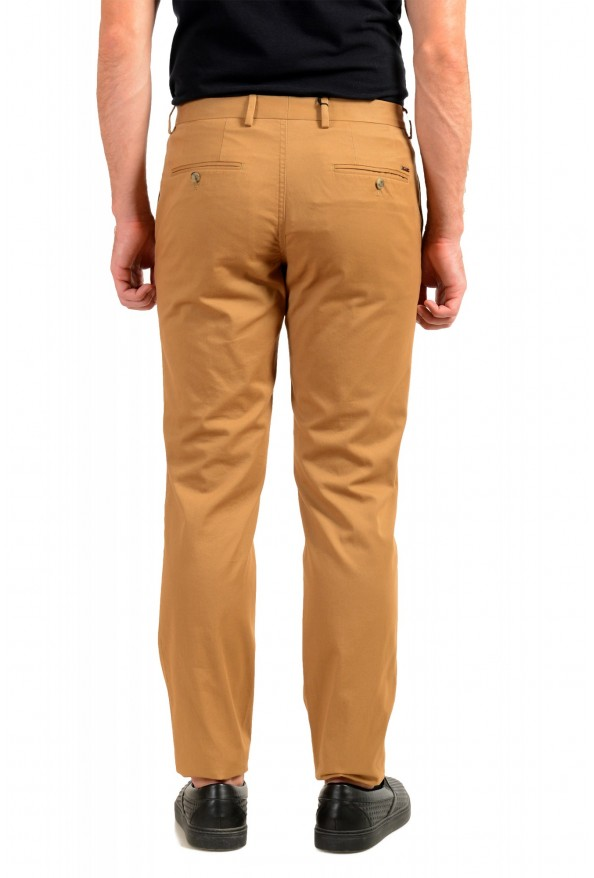 """Hugo Boss Men's """"Stanino17-W"""" Brown Flat Front Casual Pants : Picture 3"""