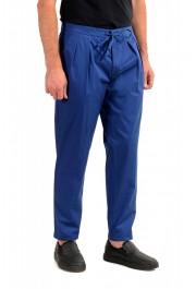 """Hugo Boss Men's """"Parik-2P-D"""" Royal Blue Pleated Front Casual Pants: Picture 2"""