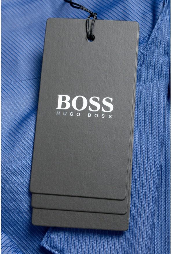 """Hugo Boss Men's """"Parik-2P-D"""" Royal Blue Pleated Front Casual Pants: Picture 5"""