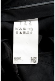 "Hugo Boss Men's ""Henry3/Glow"" Black 100% Silk Tuxedo Dress Pants: Picture 4"