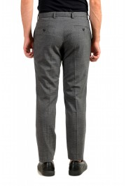 "Hugo Boss Men's ""Garo"" Slim Fit 100% Wool Gray Pants: Picture 3"