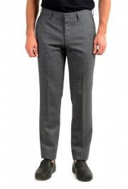 "Hugo Boss Men's ""Gido"" 100% Wool Gray Pants"