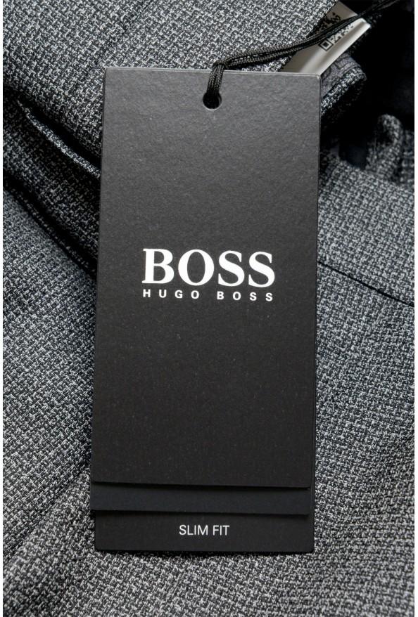 "Hugo Boss Men's ""Gido"" 100% Wool Gray Pants: Picture 4"
