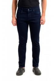 """Hugo Boss Men's """"Charleston3"""" Dark Blue Straight Leg Jeans"""