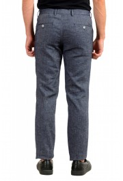 Hugo Boss Men's Stanino17-W Slim Fit Linen Flat Front Casual Pants : Picture 3