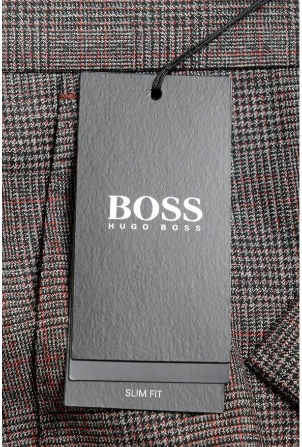 "Hugo Boss Men's ""Genius5"" Slim Fit 100% Wool Dress Pants: Picture 4"
