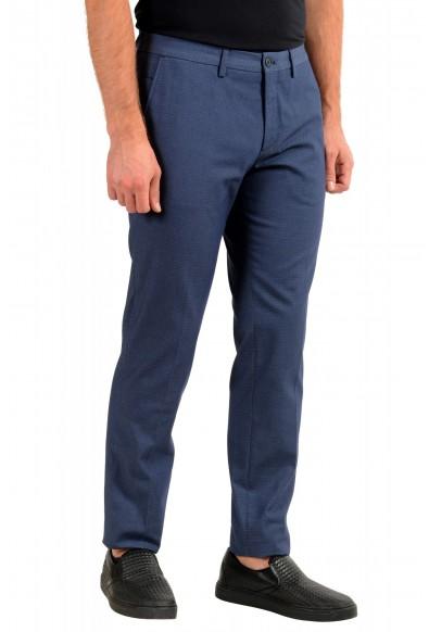 "Hugo Boss Men's ""Wylson-W"" Blue Geometric Print Casual Pants : Picture 2"