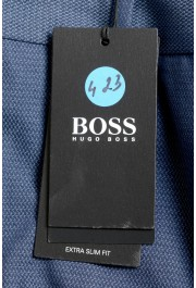 "Hugo Boss Men's ""Wylson-W"" Blue Geometric Print Casual Pants : Picture 4"