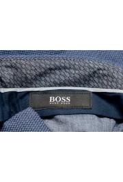 "Hugo Boss Men's ""Wylson-W"" Blue Geometric Print Casual Pants : Picture 5"