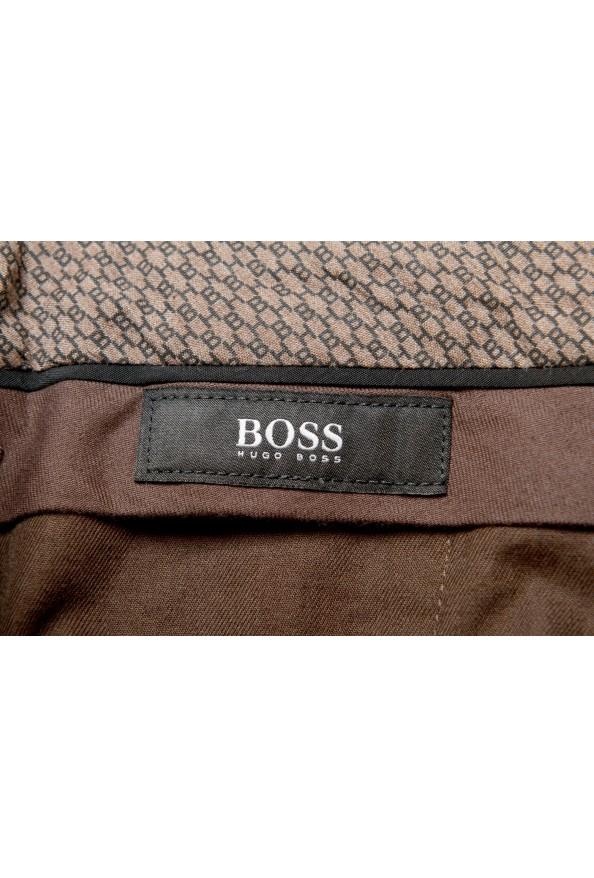 "Hugo Boss Men's ""Broad-W"" Beige Flat Front Casual Pants: Picture 5"