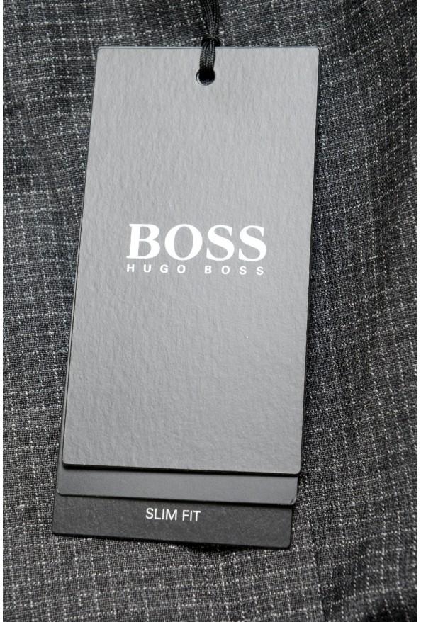 "Hugo Boss Men's ""Giro6"" Slim Fit Wool Dress Pants : Picture 4"