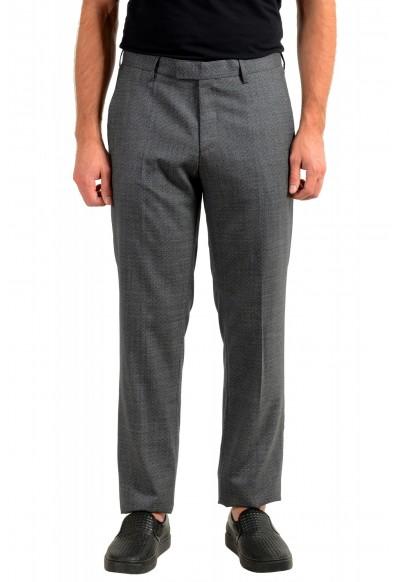 """Hugo Boss Men's """"Lenon2"""" Regular Fit 100% Wool Dress Pants"""
