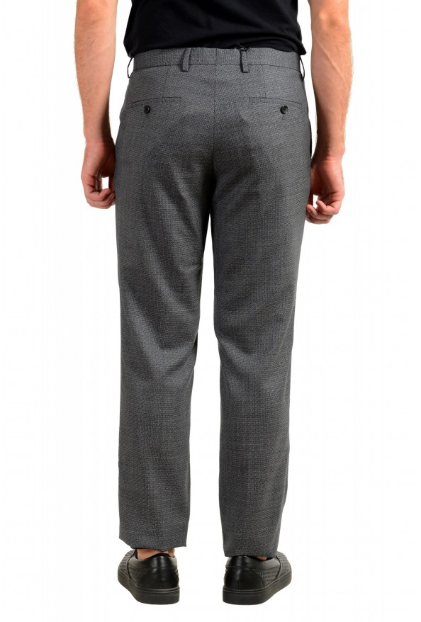 "Hugo Boss Men's ""Lenon2"" Regular Fit 100% Wool Dress Pants: Picture 3"
