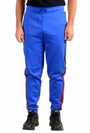 "Hugo Boss Men's ""Devry"" Blue Casual Pants Sweatpants"