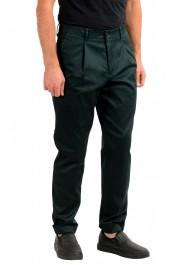 "Hugo Boss Men's ""Kirio-Workwear"" Dark Green Casual Pants: Picture 2"