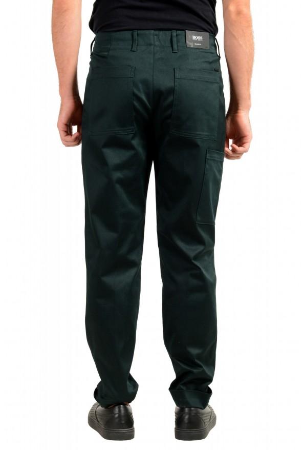 "Hugo Boss Men's ""Kirio-Workwear"" Dark Green Casual Pants: Picture 3"
