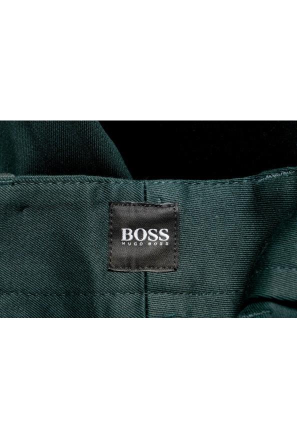 "Hugo Boss Men's ""Kirio-Workwear"" Dark Green Casual Pants: Picture 5"