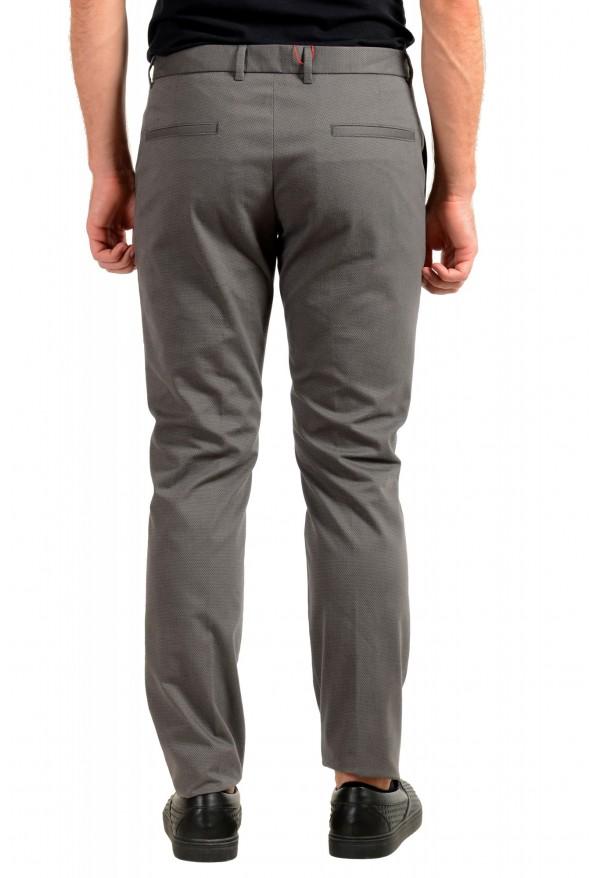 "Hugo Boss Men's ""Heldor183"" Gray Geometric Print Flat Front Casual Pants: Picture 3"