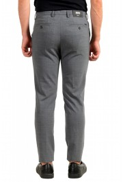 """Hugo Boss Men's """"Kaito3-Stitch1"""" Slim Fit Gray Wool Flat Front Casual Pants: Picture 3"""